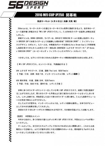 56DESIGN SPORT 開幕戦 筑波-1 のコピー