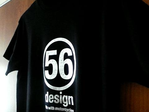 56designロゴTシャツ