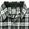 "56design ""Salt Lake City"" nel check w-pocket riding shirts"